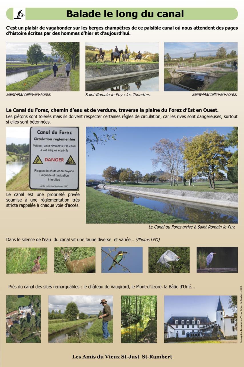 Balade le long du Canal du Forez