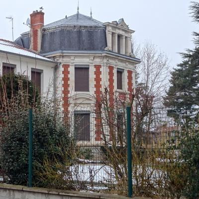façade richement ouvragée