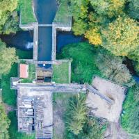 Le pont-canal sur la Curraize(Drone)