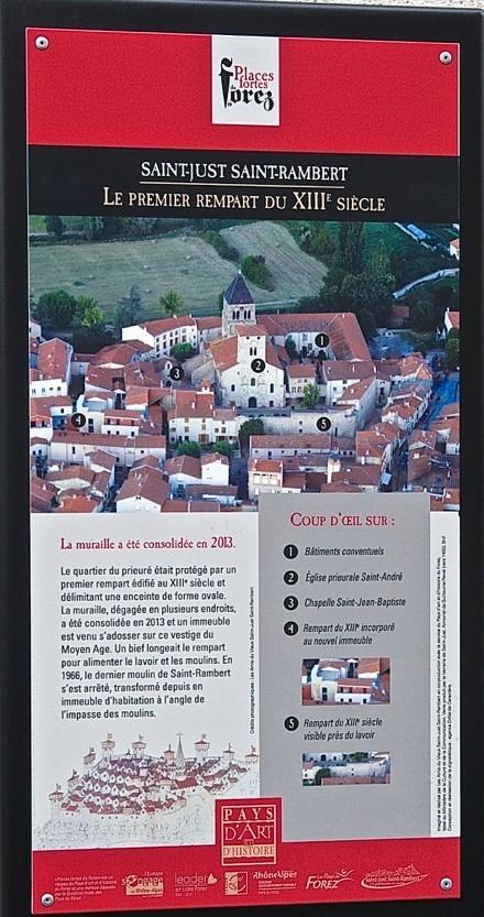 Les remparts du XIII ème siècle
