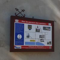 Plan du parcours des Mariniers
